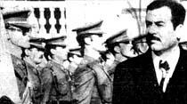 Genelkurmay'daki brifingte vurulan Saddam Hüseyin felç oldu, kardeşi öldü