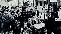 Dün Bulgaristandan şehrimize 86 faşist talebe gelmiştir.