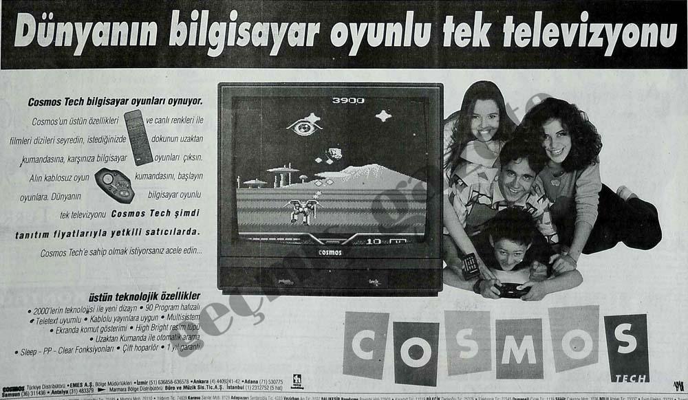 Dünyanın bilgisayar oyunlu tek televizyonu