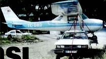 Uçağa trafik cezası
