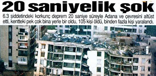 Deprem: 105 ölü