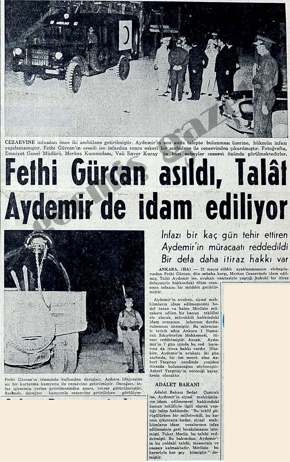 Fethi Gürcan asıldı