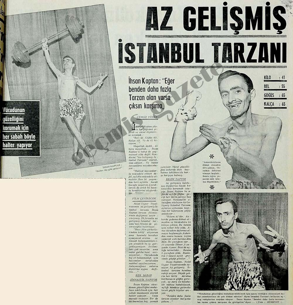 Az gelişmiş İstanbul tarzanı
