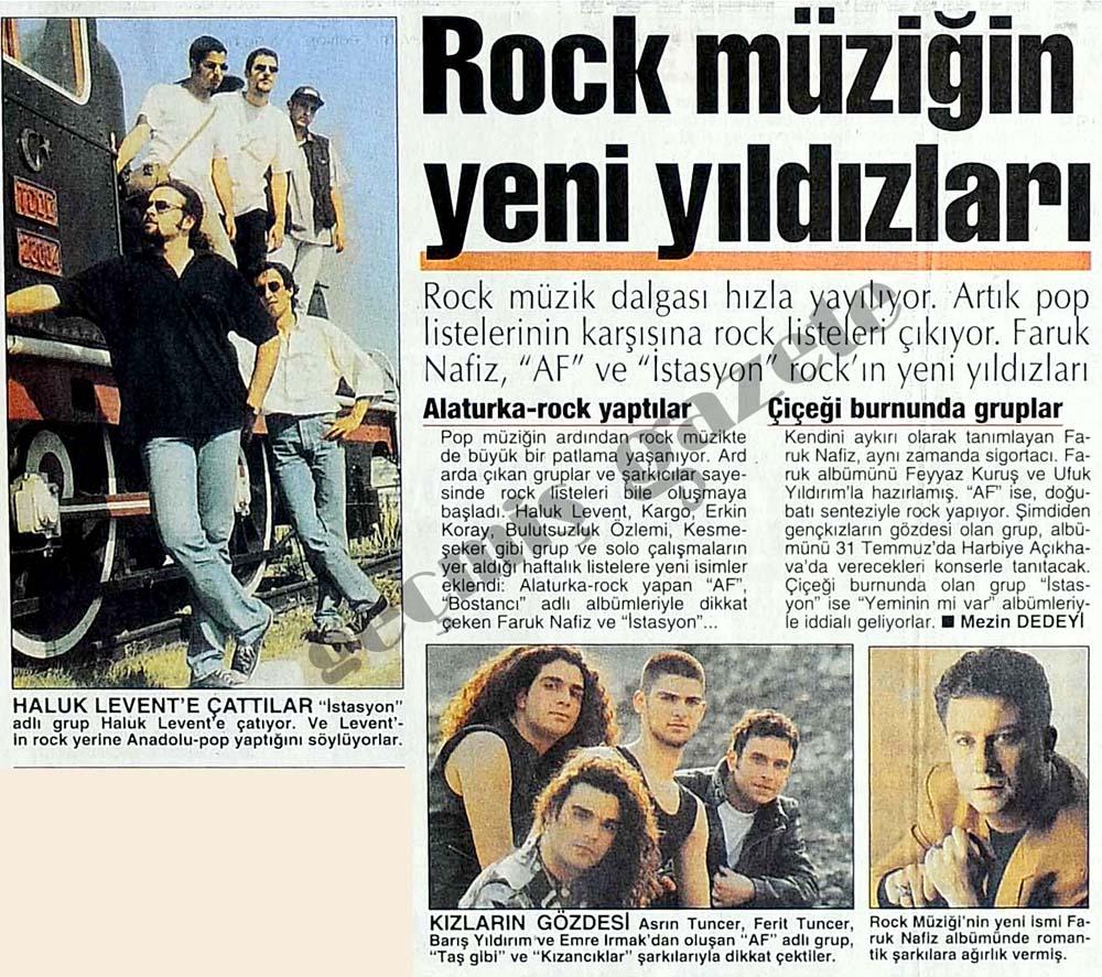 Rock müziğin yıldızları