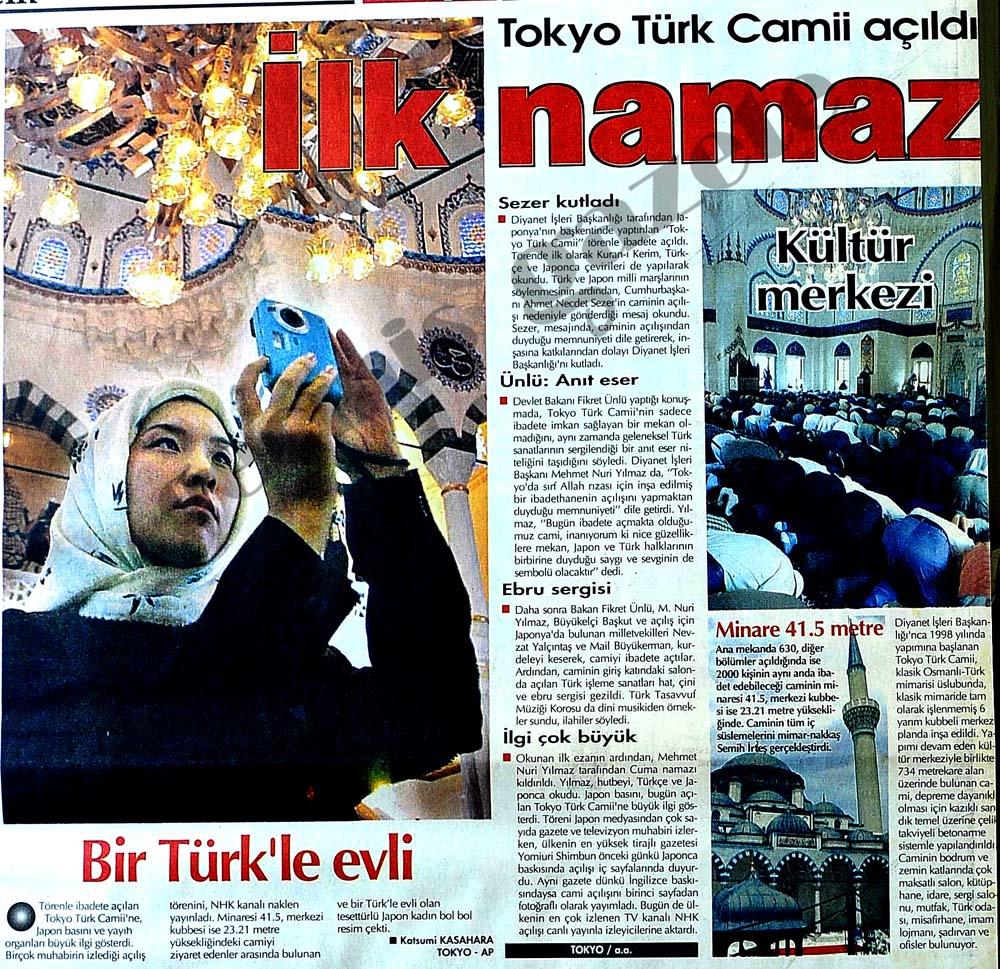 Tokyo Türk Camii açıldı