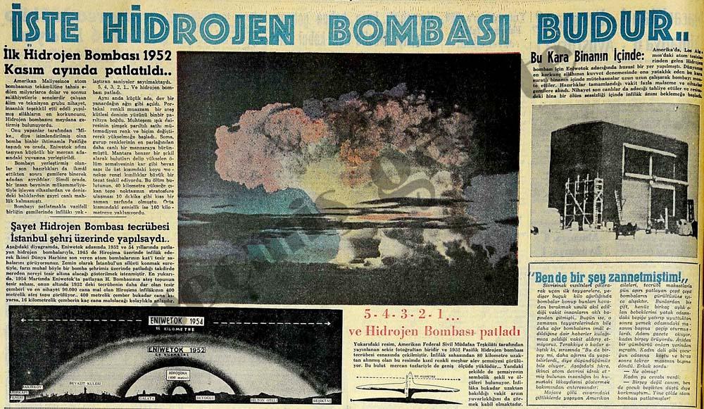 İşte Hidrojen Bombası budur..