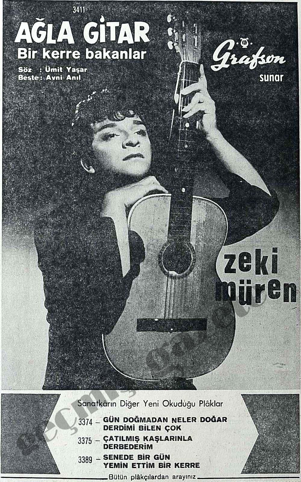 Ağla Gitar bir kerre bakanlar
