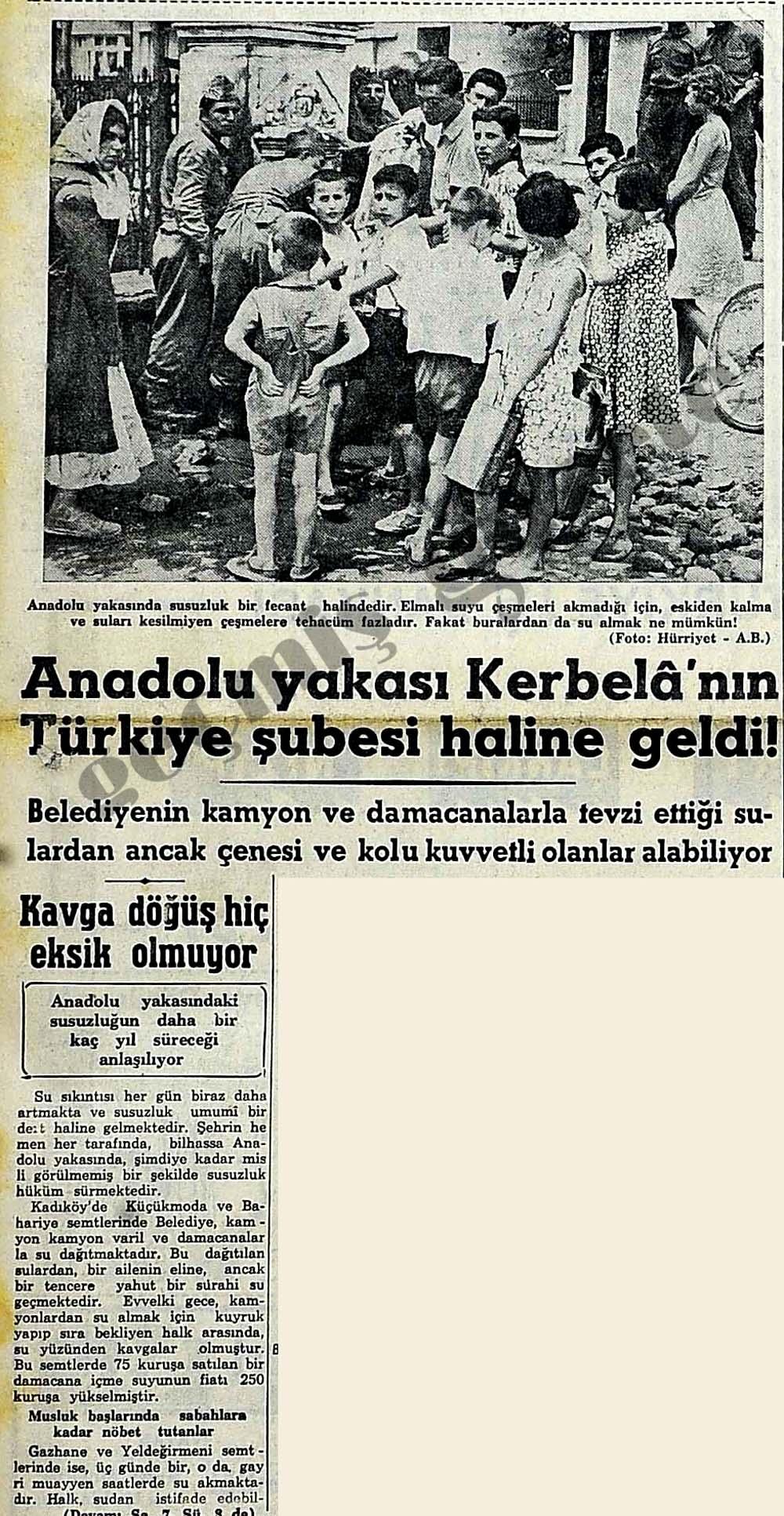 Anadolu yakası Kerbela'nın Türkiye şubesi haline geldi!
