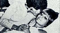 Filim çevirirken apandisit krizi gelen ve hemen ameliyat edilen Ajda