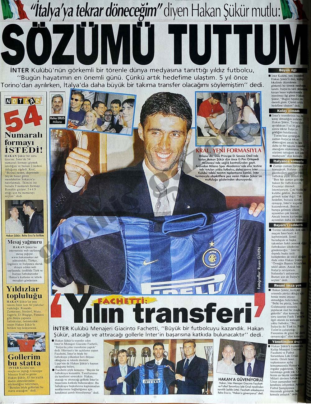 Yılın transferi