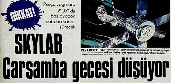 Skylab Çarşamba gecesi düşüyor