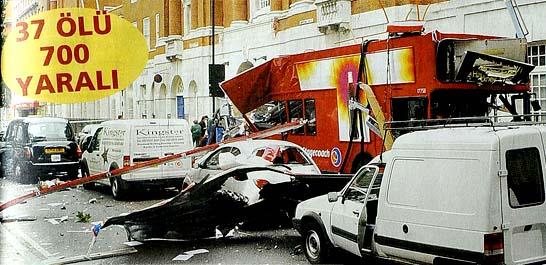 El Kaide Londra'yı vurdu