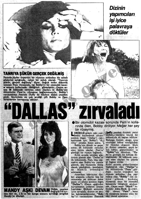 """""""Dallas"""" zırvaladı"""