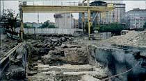 Tarihe çarpan metro kazısının projesi değiştiriliyor
