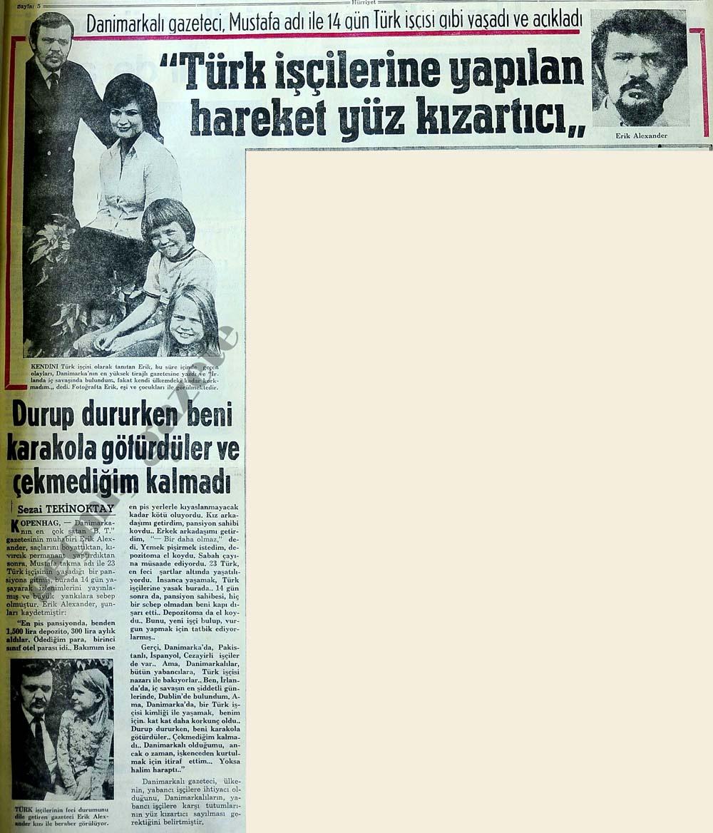 Danimarkalı gazeteci, Mustafa adı ile 14 gün Türk işçisi gibi yaşadı ve açıkladı