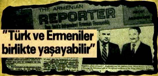 Ecevit'in Ermeni gazetesine demeci