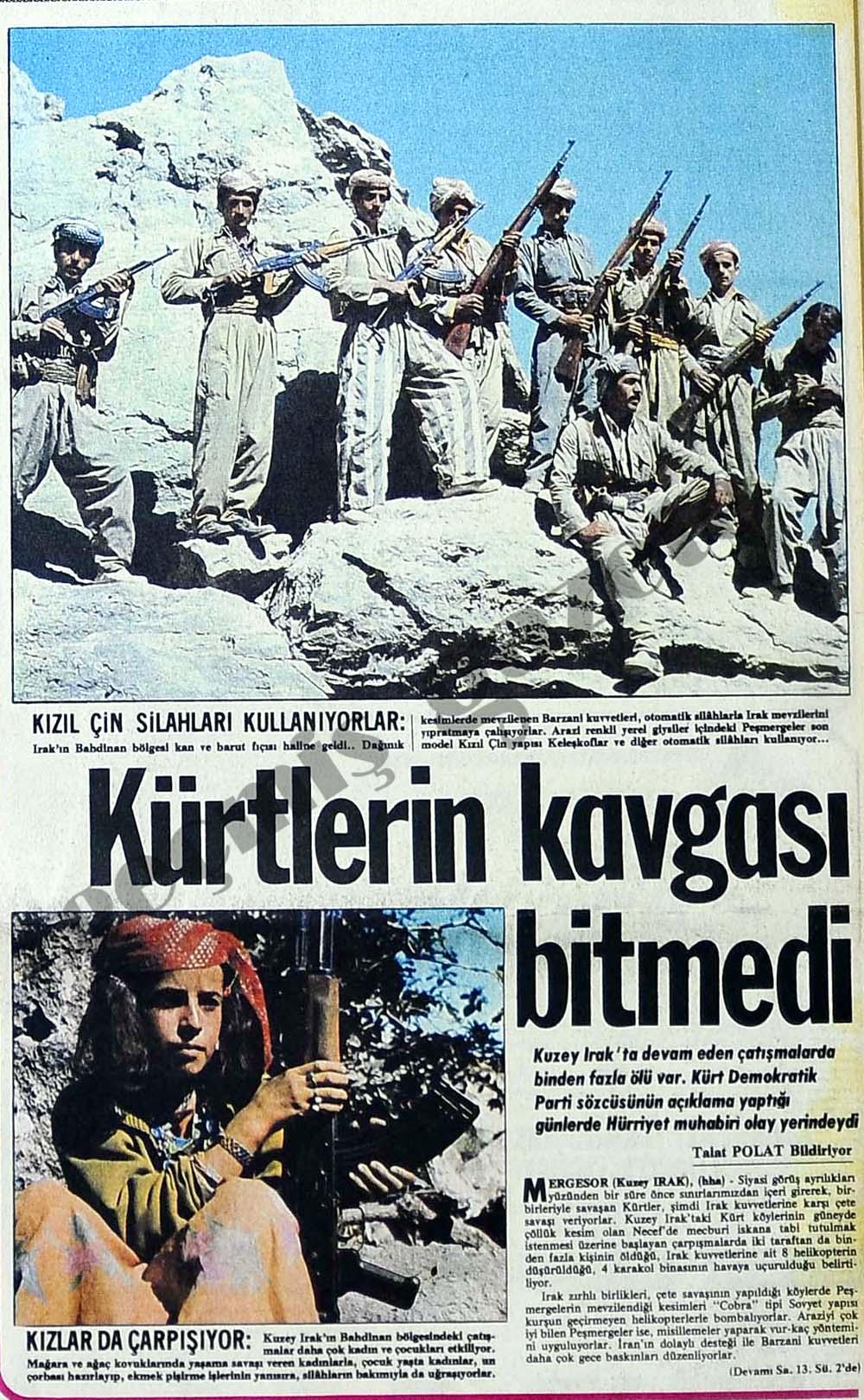 Kürtlerin kavgası bitmedi