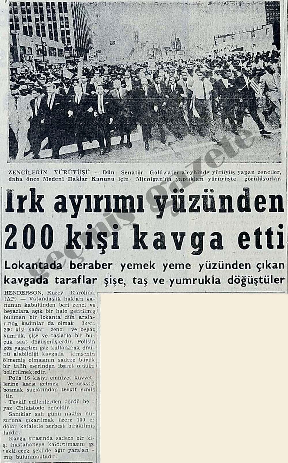 Irk ayrımı yüzünden 200 kişi kavga etti