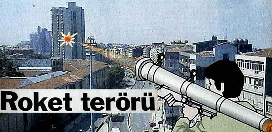 Harbiye Orduevi roketli saldırıya uğradı