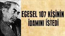 Anayasayı ihlal davası için konuşan Başsavcı Egesel 107 kişinin idamını istedi
