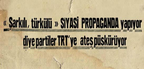Partiler TRT'ye ateş püskürüyor