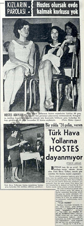 Türk Hava Yollarına Hostes Dayanmıyor