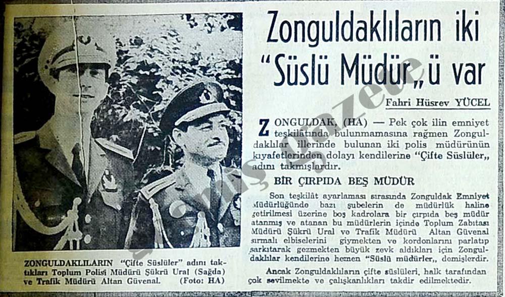 """Zonguldaklıların iki """"Süslü Müdür""""ü var"""