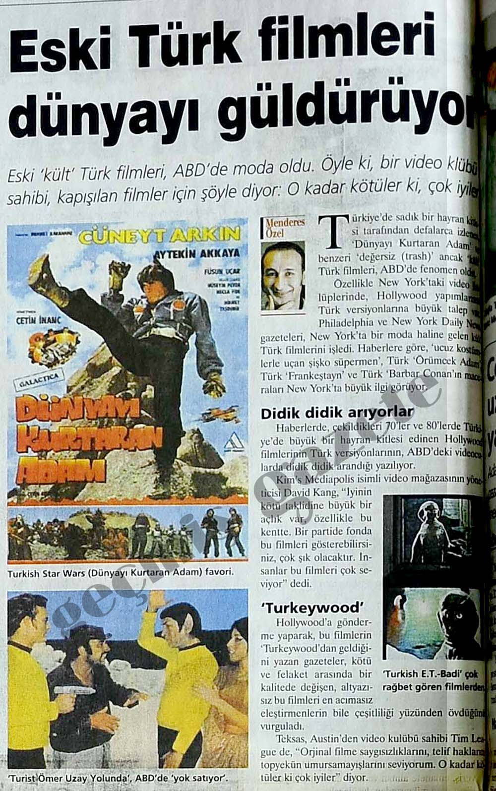 Eski Türk filmleri dünyayı güldürüyor