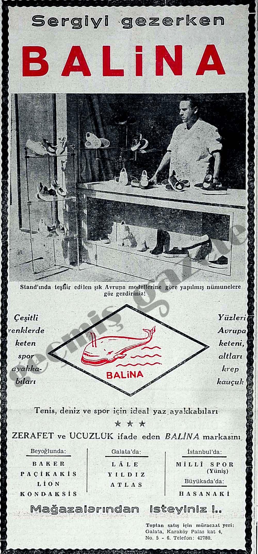 Sergiyi gezerken Balina