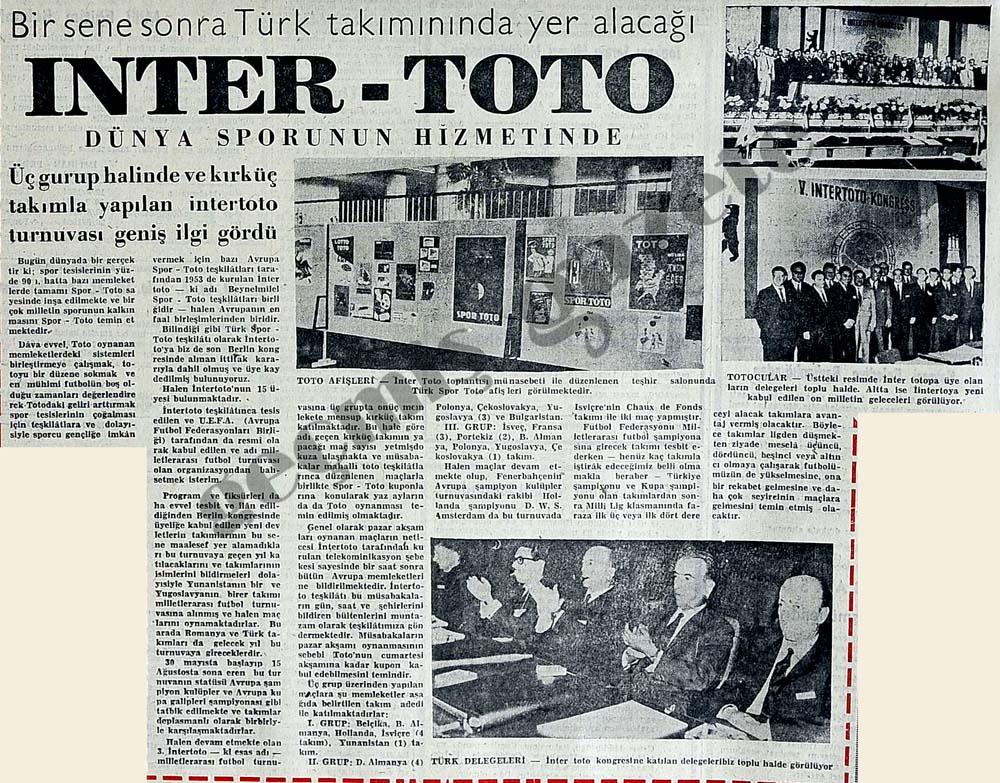 Inter-Toto dünya sporunun hizmetinde