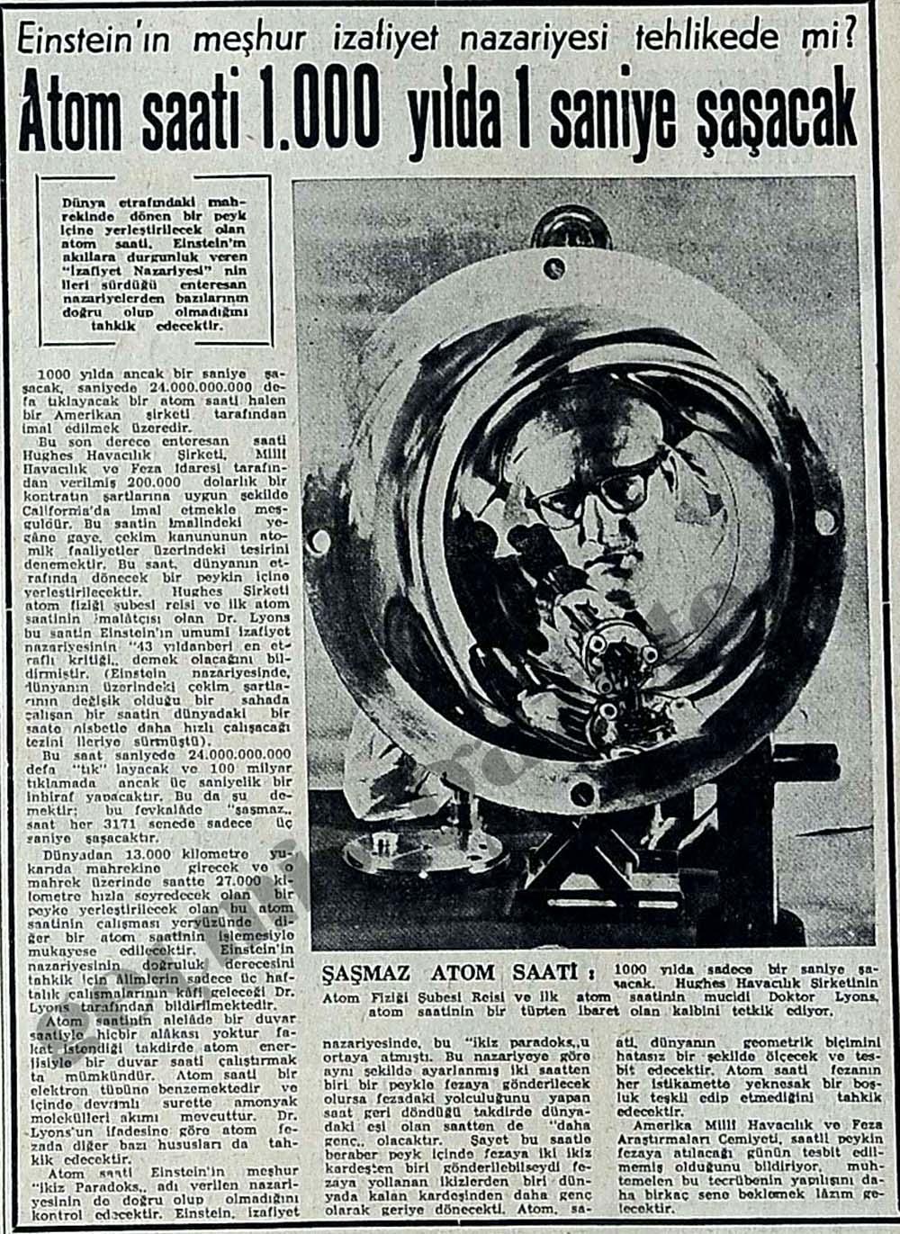 Einstein'ın meşhur izafiyet nazariyesi tehlikede mi?