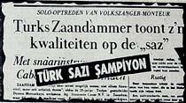 """Dünya Saz-Şarkı Yarışmasında """"Türkü""""lerimiz batı şarkılarını maglup etti"""