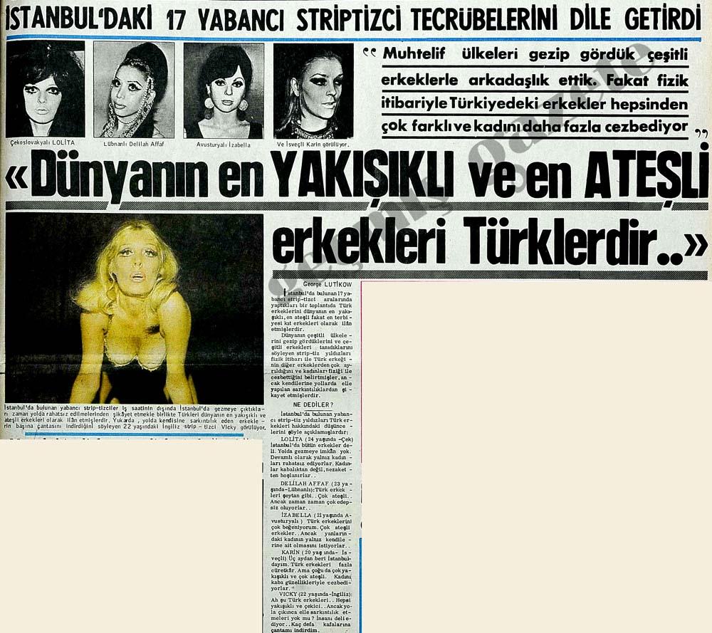 """""""Dünyanın en yakışıklı ve en ateşli erkekleri Türklerdir.."""""""