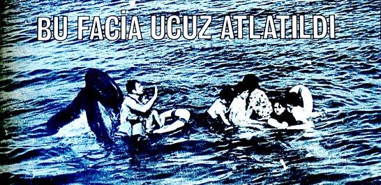 Gemi motorla çarpıştı 23 kişi denize döküldü