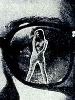Çıplak gösteren gözlük