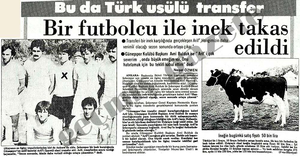 Bu da Türk usülü transfer