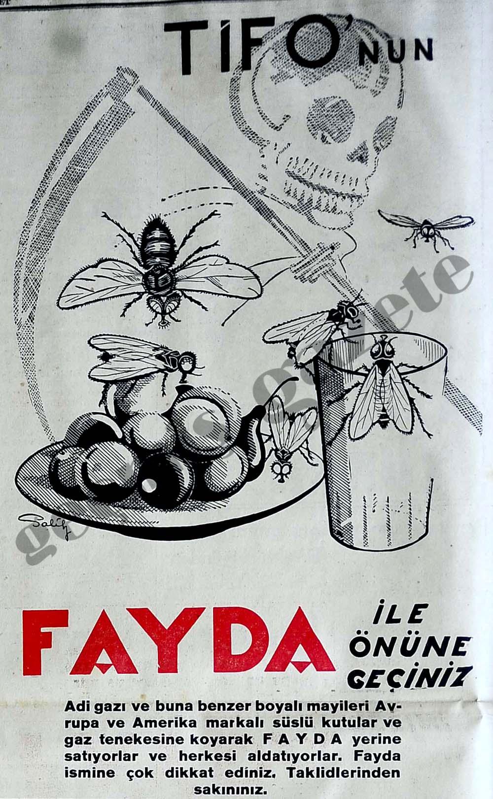Tifo'nun Fayda ile önüne geçiniz