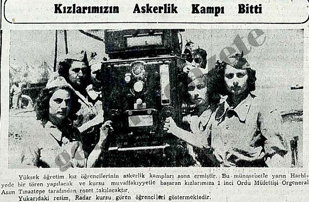 Kızların Askerlik Kampı Bitti