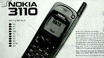 Genç, dinamik, ergonomik, ekonomik Nokia 3110