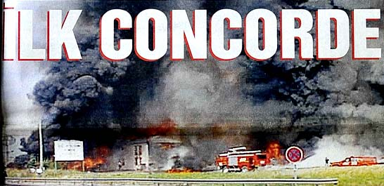 İlk Concorde böyle düştü
