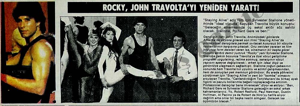 Travolta'yı yeniden yarattı