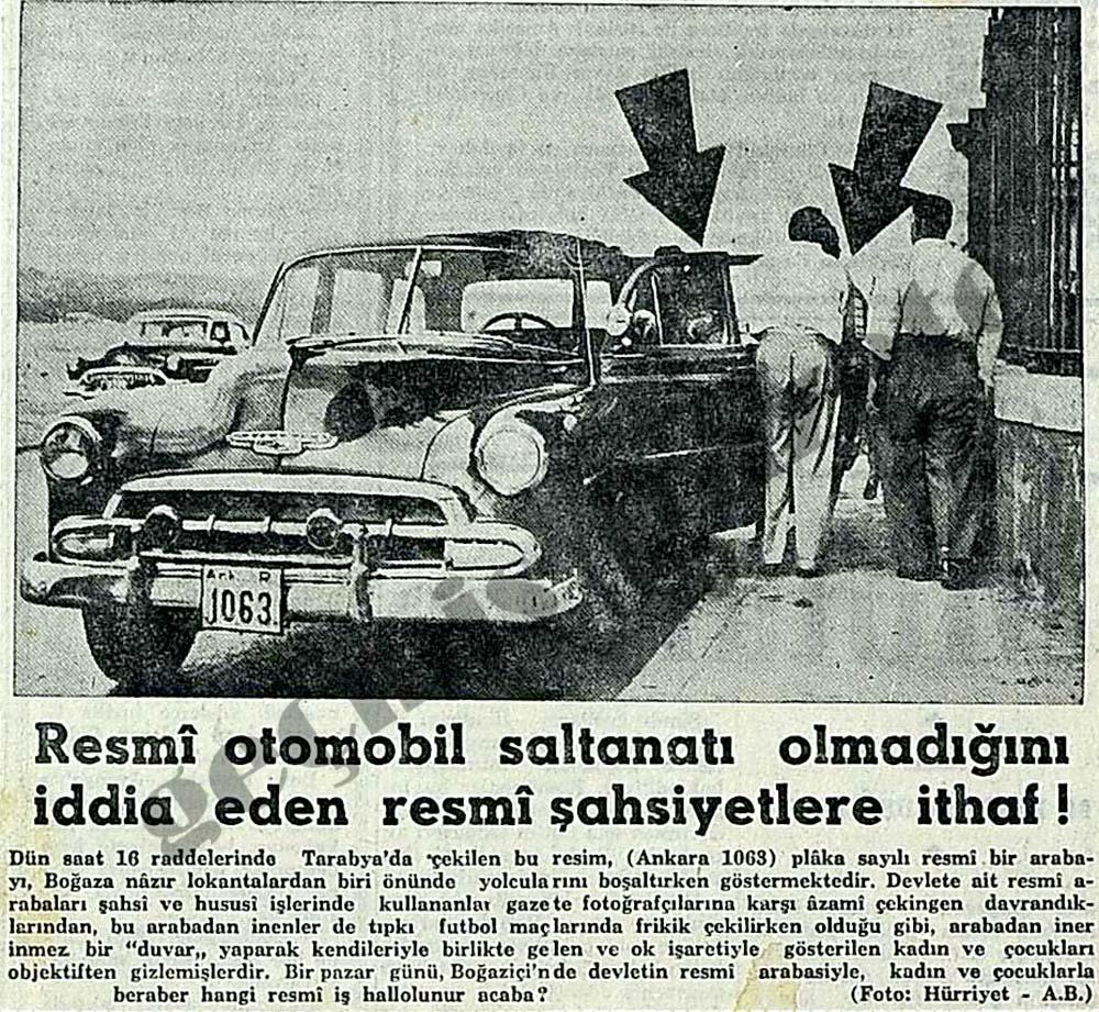 Resmi otomobil saltanatı olmadığını iddia eden resmi şahsiyetlere ithaf!