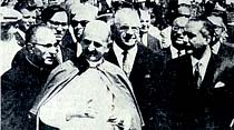 Papa Paul VI İstanbul'a geldi