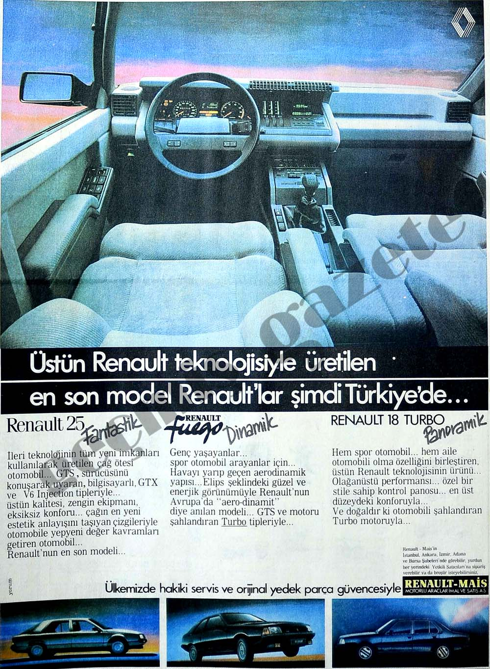 Üstün Renault teknolojisiyle üretilen en son model Renault'lar şimdi Türkiye'de...