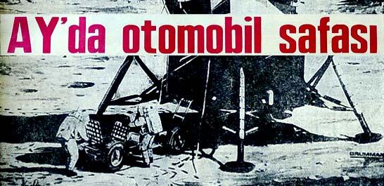Ay'da otomobil sefası
