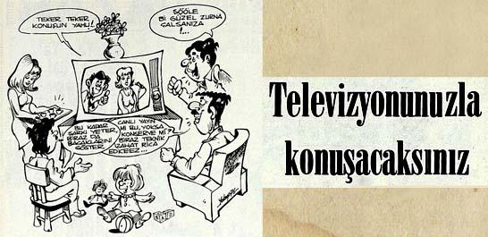 Televizyonunuzla konuşacaksınız
