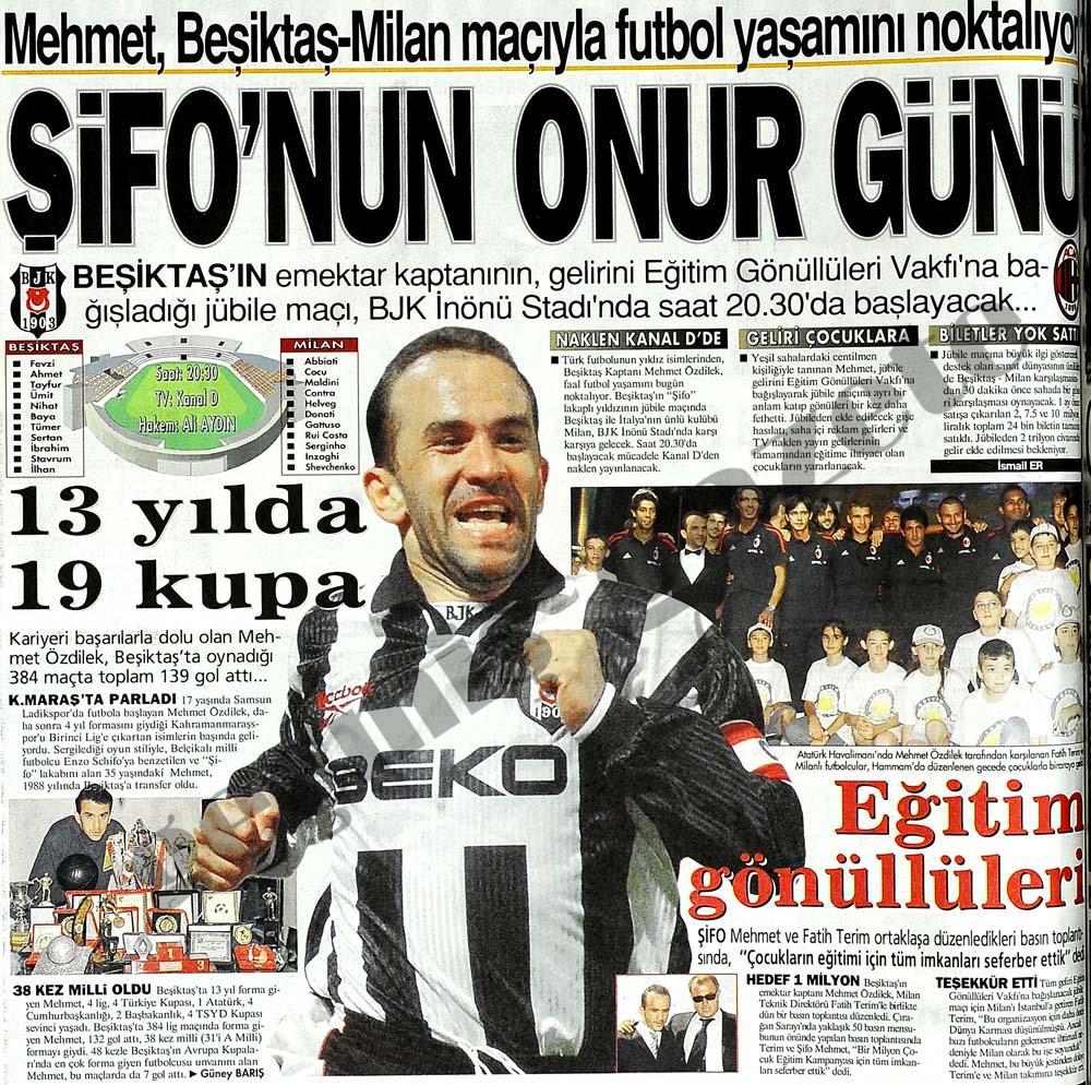 Mehmet, futbol yaşamını noktalıyor