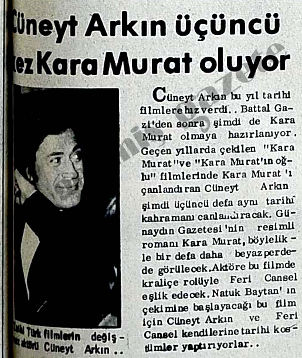 Üçüncü kez Kara Murat