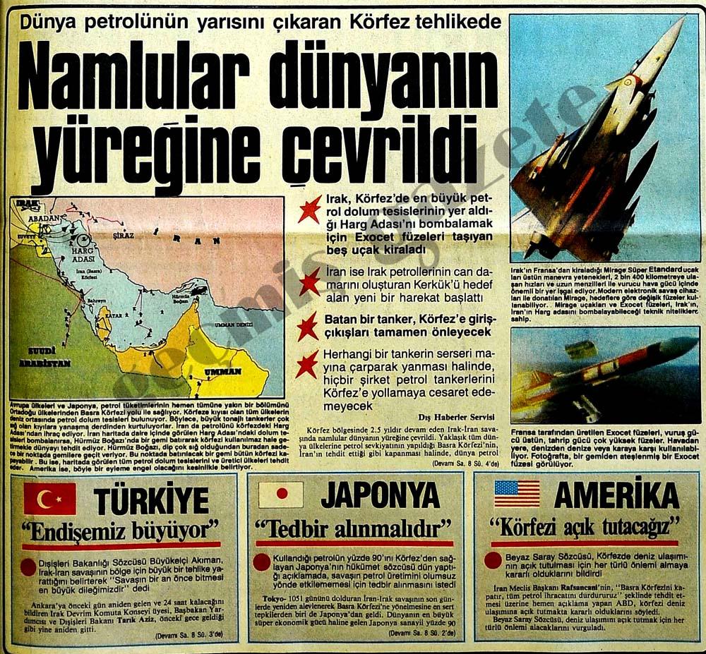 Dünya petrolünün yarısını çıkaran Körfez tehlikede