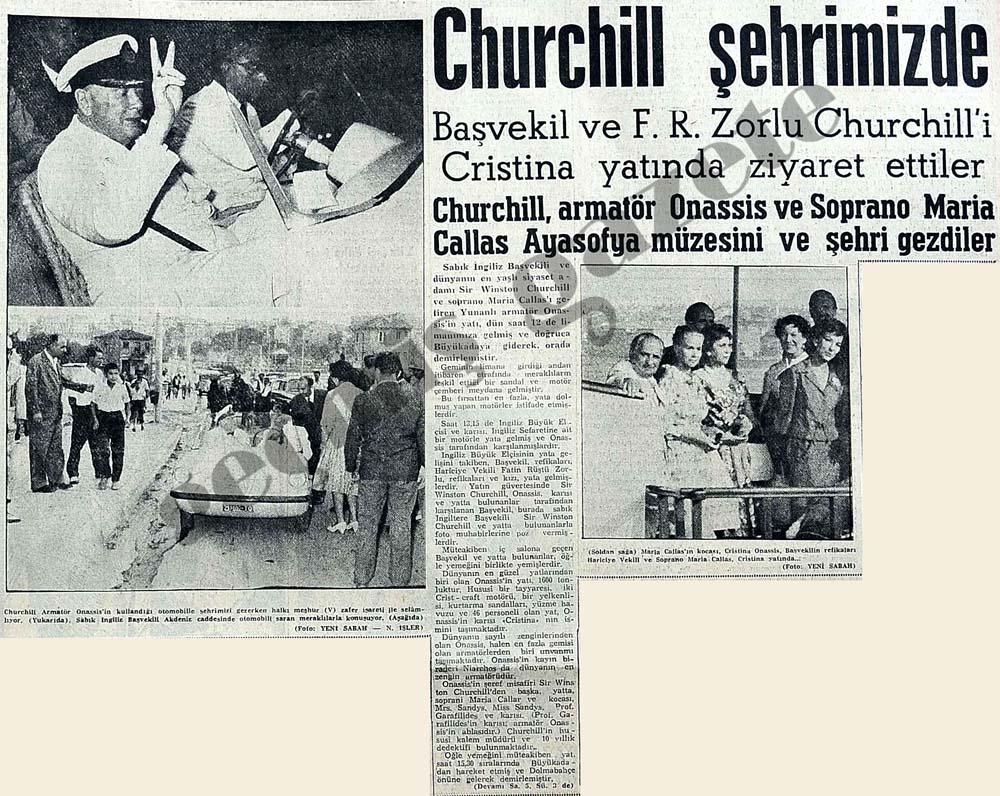 Winston Churchill şehrimizde